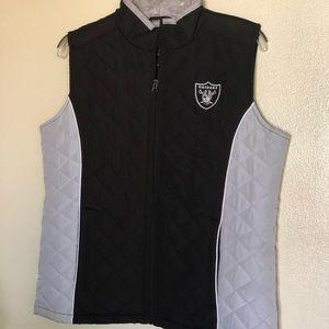 RAIDERS vest Official NFL apparel Women's Medium